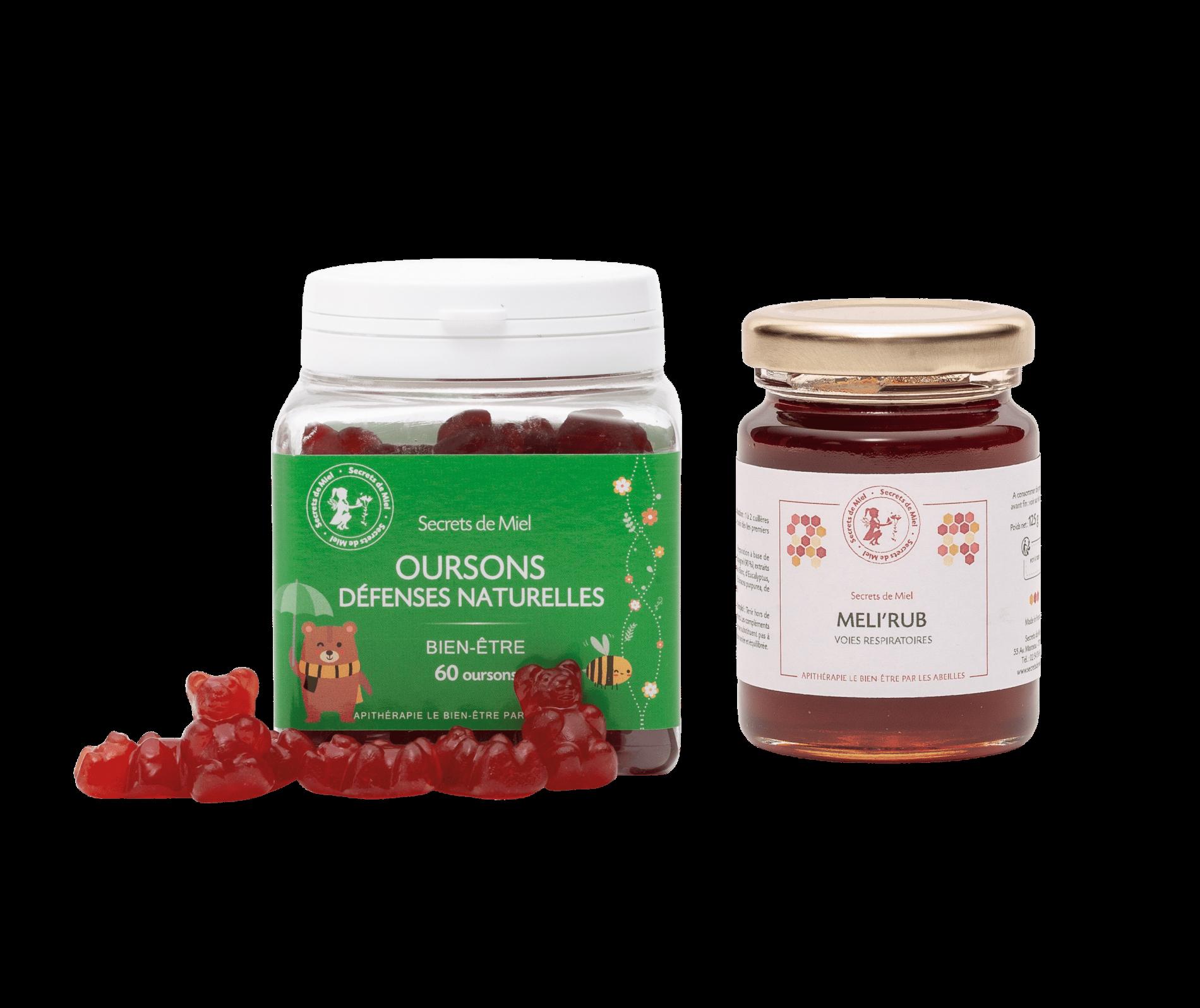 miel et plantes - soins compléments alimentaires enfants - renforcement des défenses naturelles - Secrets de Miel - miel - propolis - échinacée - miel infusé aux plantes