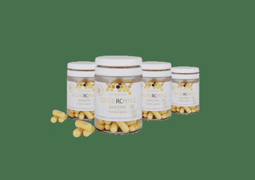cure - gelée royale - Secrets de Miel - produits naturels - produtis de la ruche