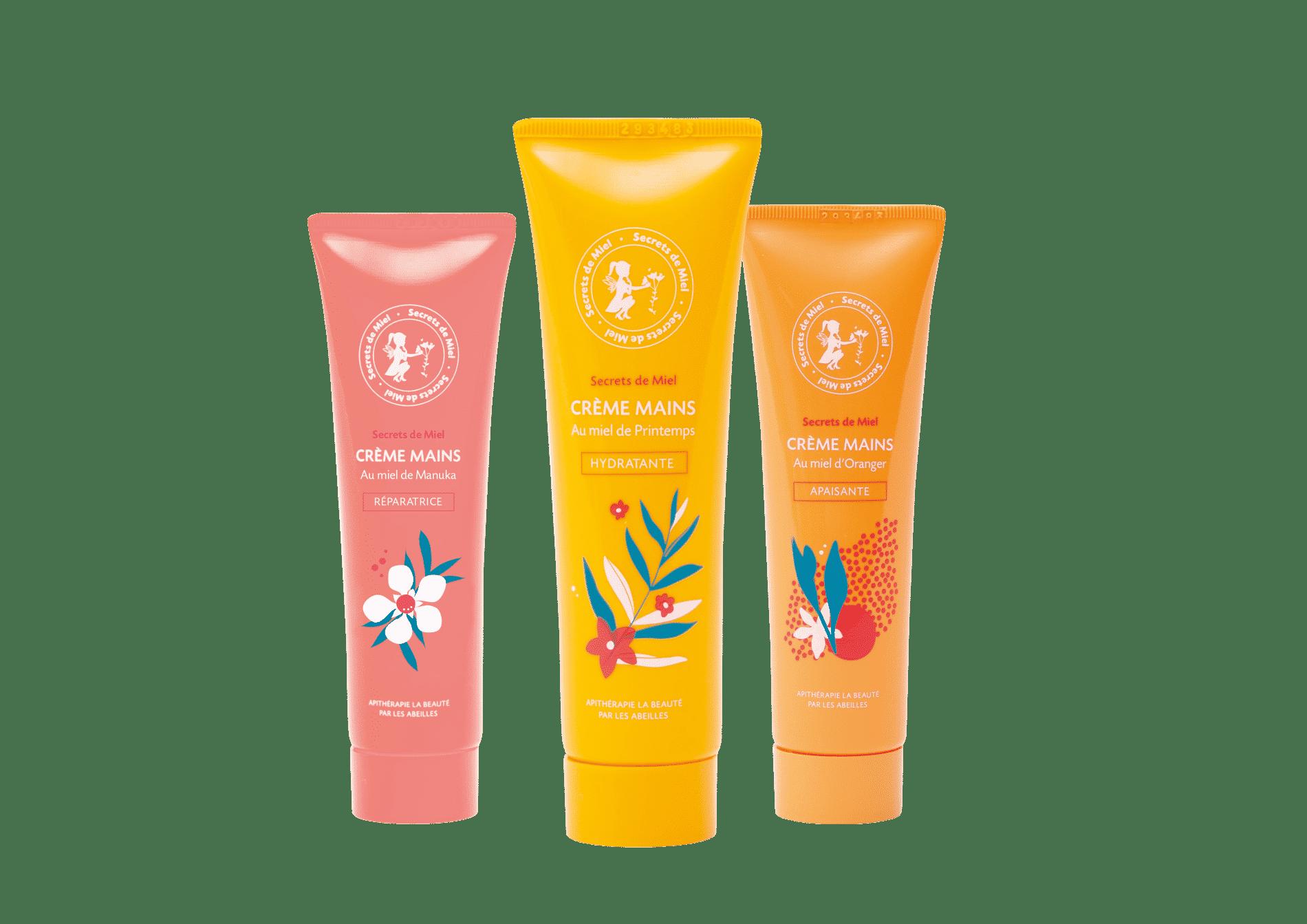 hydratation - mains sèches - miel - crèmes mains - Secrets de Miel