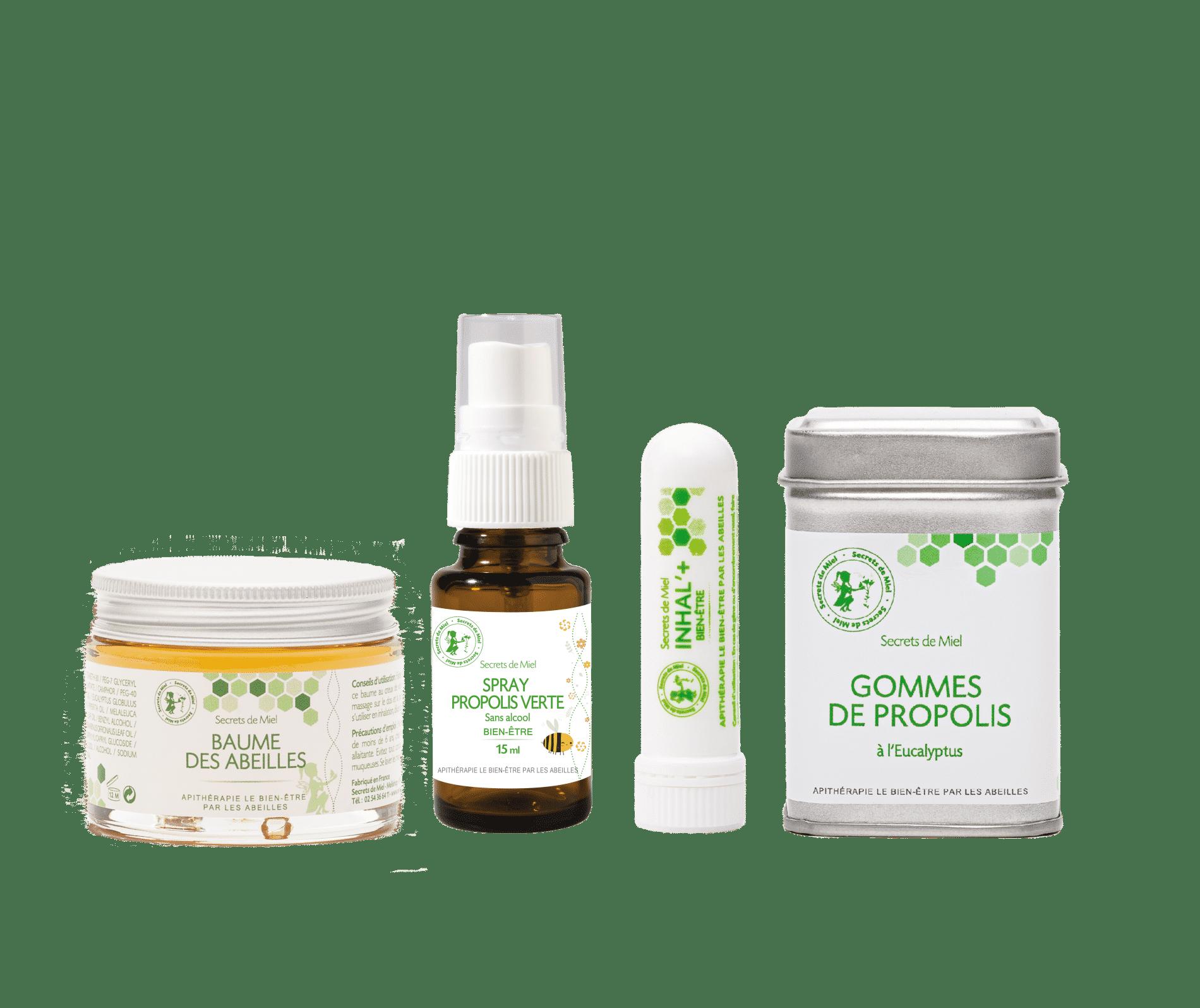 lutter contre les maladie - propolis - produits naturels - rhûmes - coups de froid - essentiels - trousse de secours