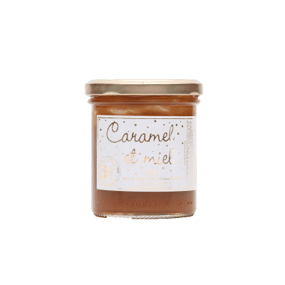 pâte à tartiner - artisanale - caramel - petit déjeuner - goûter - Seccrets de Miel - fabrication française