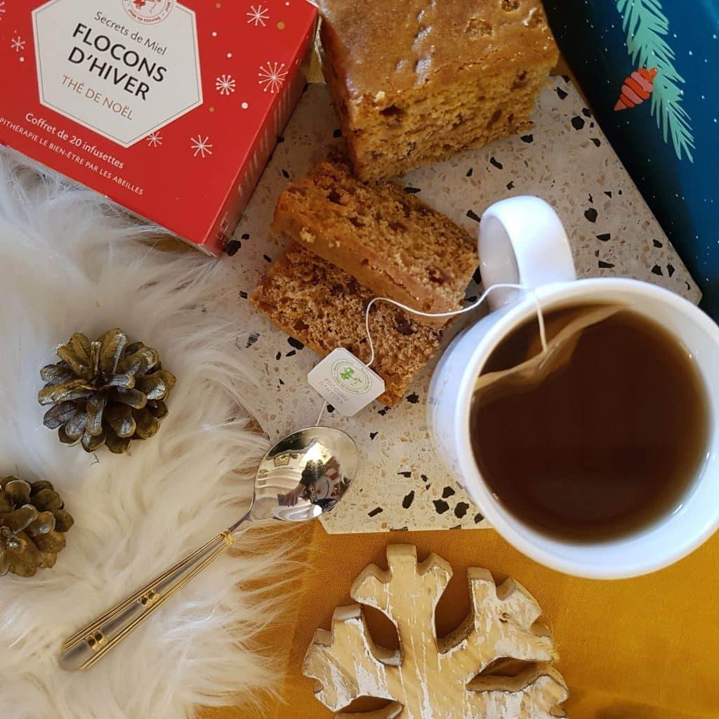 Tea time de Noël avec Secrets de Miel