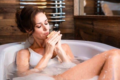 bain - mannequin - détente