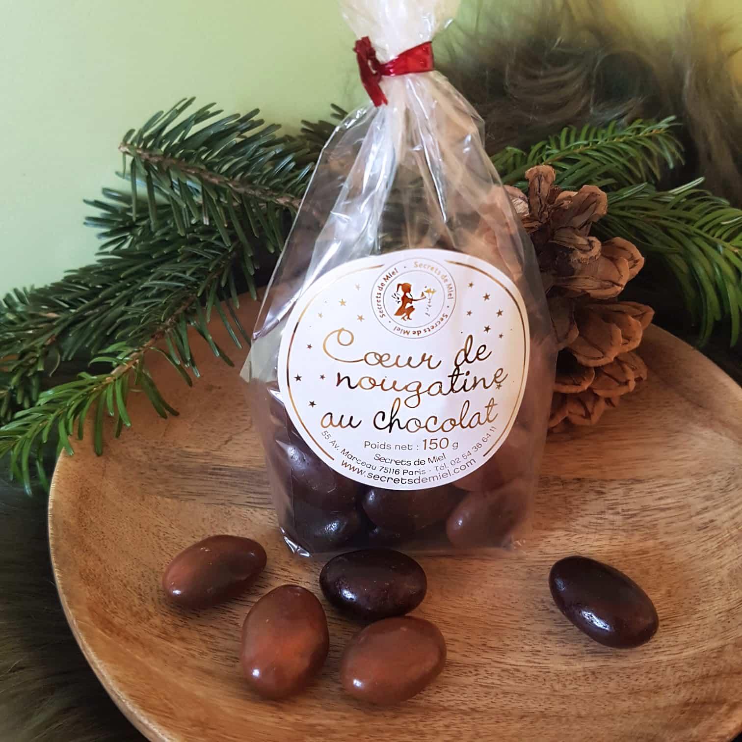 nougatines au chocolat - lot de deux - idée cadeau - mood Noël