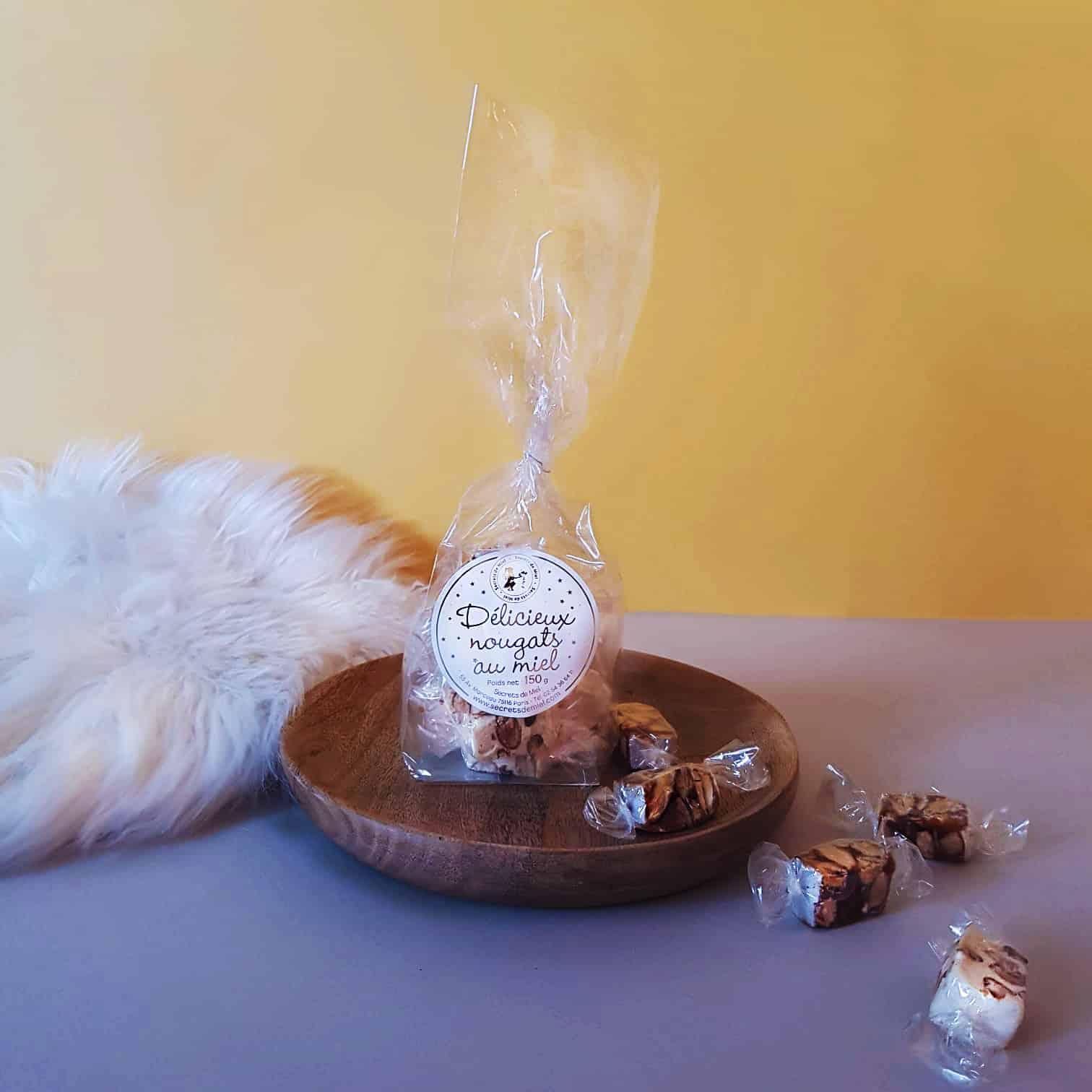 Nougats au miel - Secrets de Miel - fabrication artisanale