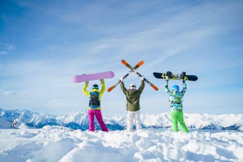 offre du mois - sports d'hiver