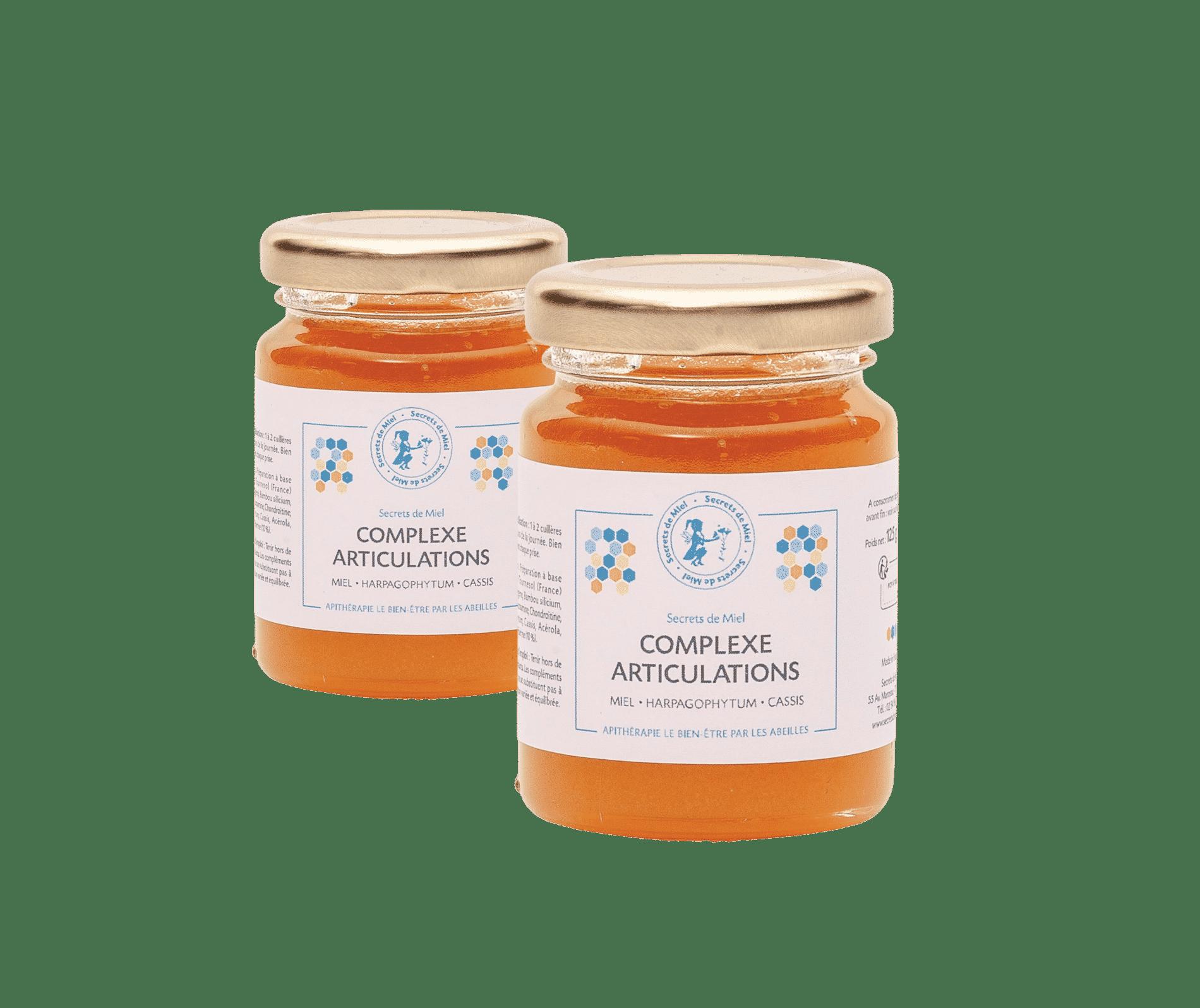 Secrets de Miel - produits naturels articulations - miel et plantes - articulations douloureuses