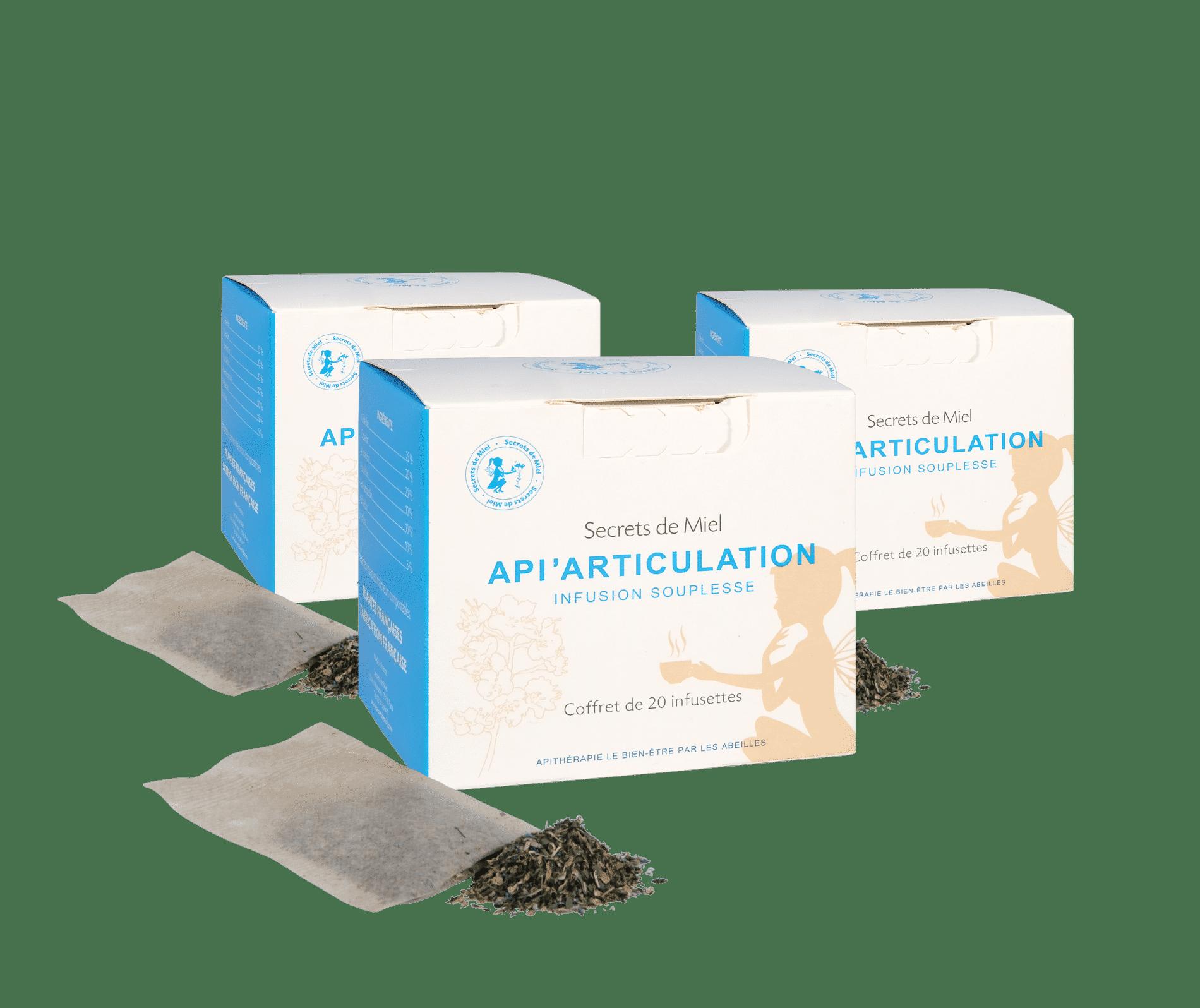 articulations - soulage - plantes bio - infusion - Secrets de Miel