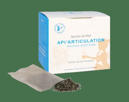 infusion - articulations - souplesse - plantes bio - Secrets de Miel
