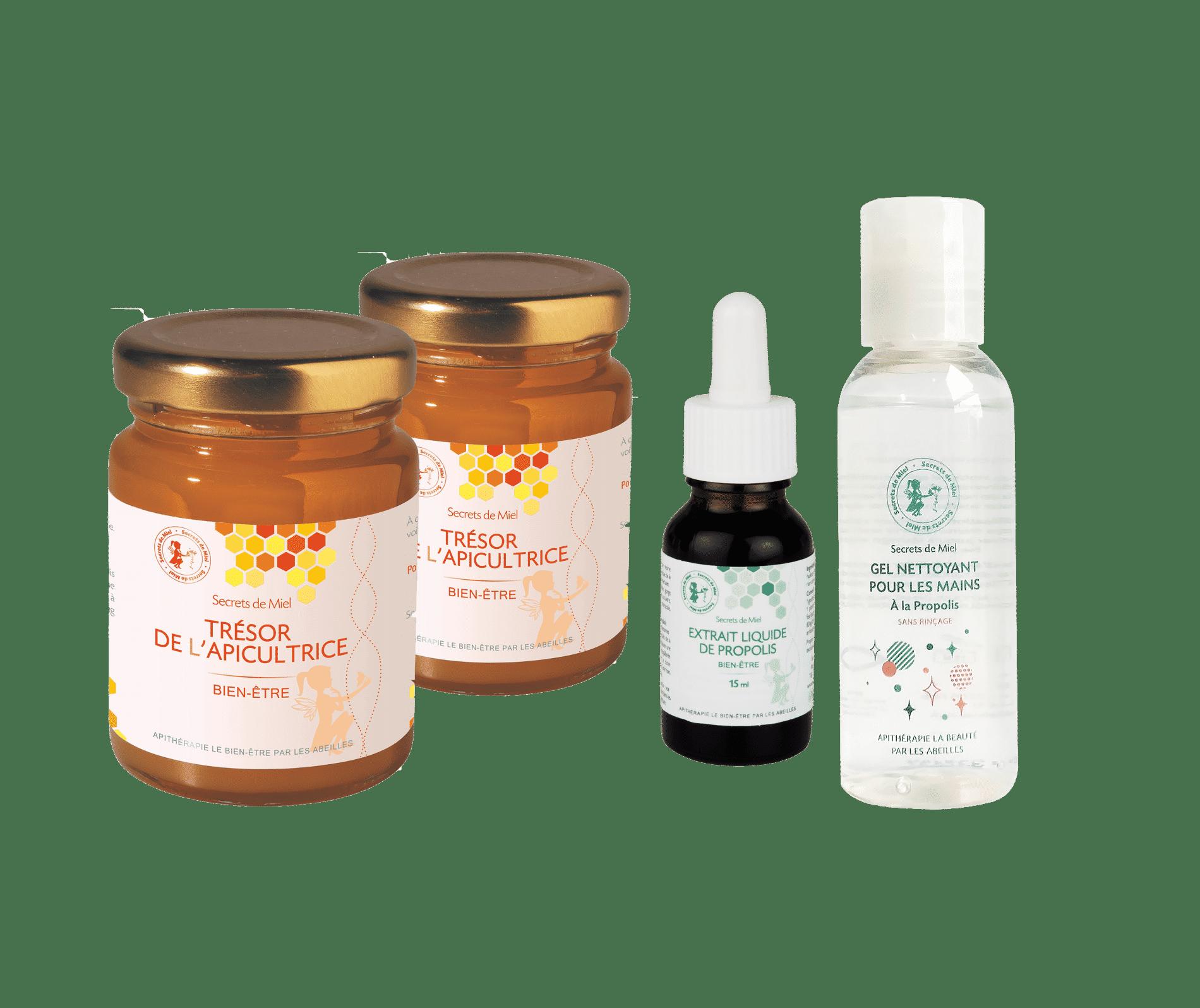 Immunité - renforcer son organisme - produits de la ruche - Secrets de Miel