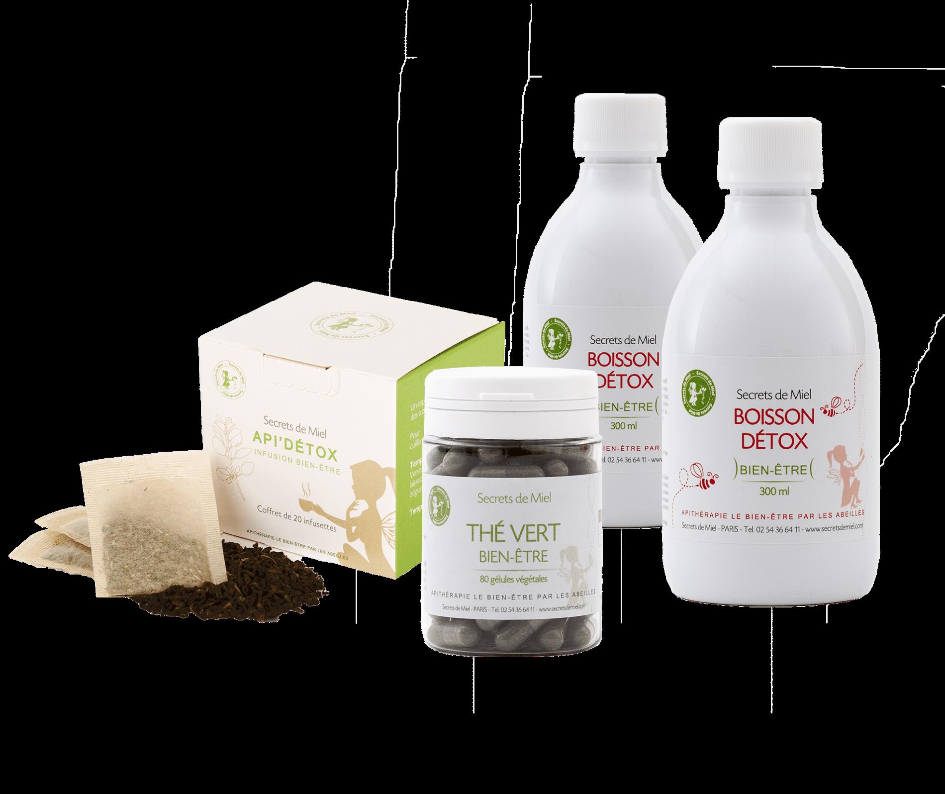 programme détox - offre spéciale - Secrets de Miel - produits naturels - Détox
