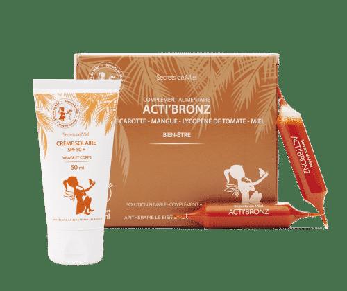 Bronzer - bronzage - préparation au soleil - allergies au soleil - soleil - produits naturels - Secrets de Miel