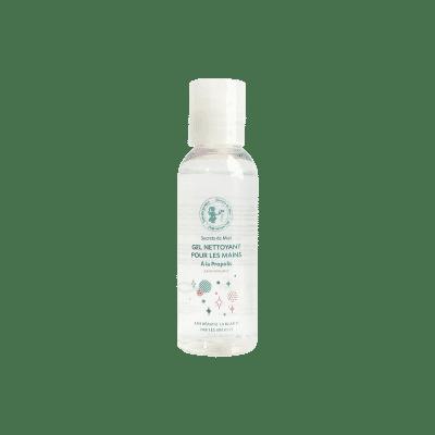 gel nettoyant pour les mains - purifiant - propolis - gel pour les mains - produits naturels - Secrets de Miel