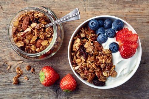 recette - fruits - déjeuner