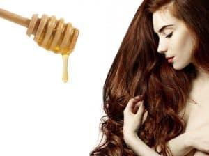Miel - cheveux