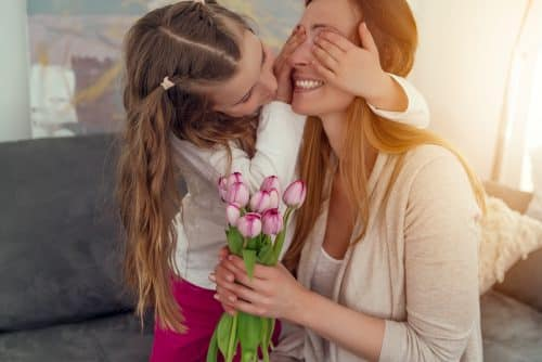 coffret - bouquet d'amour - maman