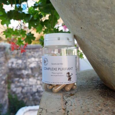 Complexe Purifiant - Vendeur à domicile indépendant - vente directe en cosmétiques - cosmétiques naturelles - apithérapie - produits de la ruche - made in France - Secrets de miel