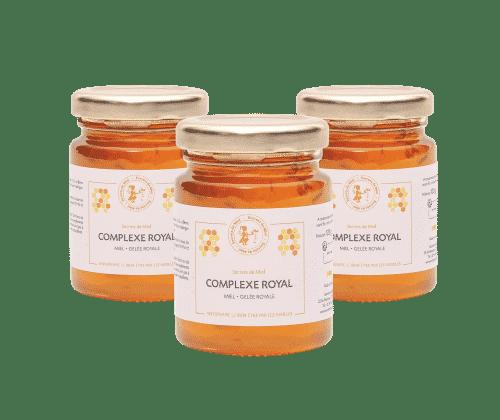 gelée royale - miel - forme et tonus - produits naturels - Secrets de Miel