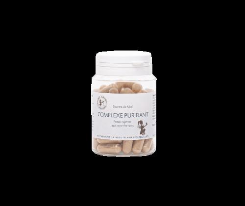 Complexe purifiant pour le visage - complément alimentaire - purifiant - soins du visage - plantes - naturel - Secrets de Miel