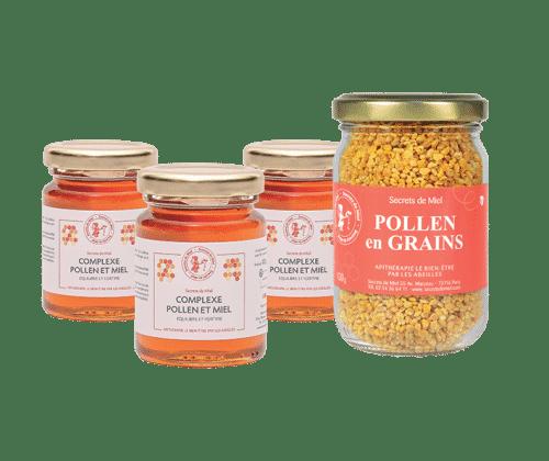 pollen d'abeilles - programme - offre spéciale - Secrets de Miel