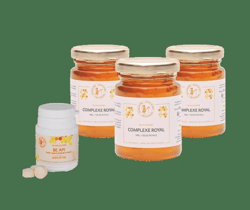 forme - tonus - gelée royale - produits naturels - Secrets de Miel
