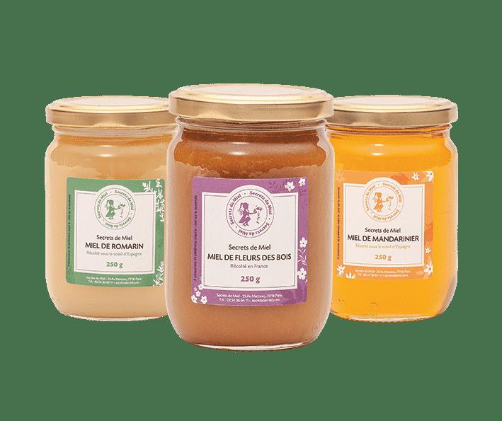 miels - cadeaux - Secrets de Miel