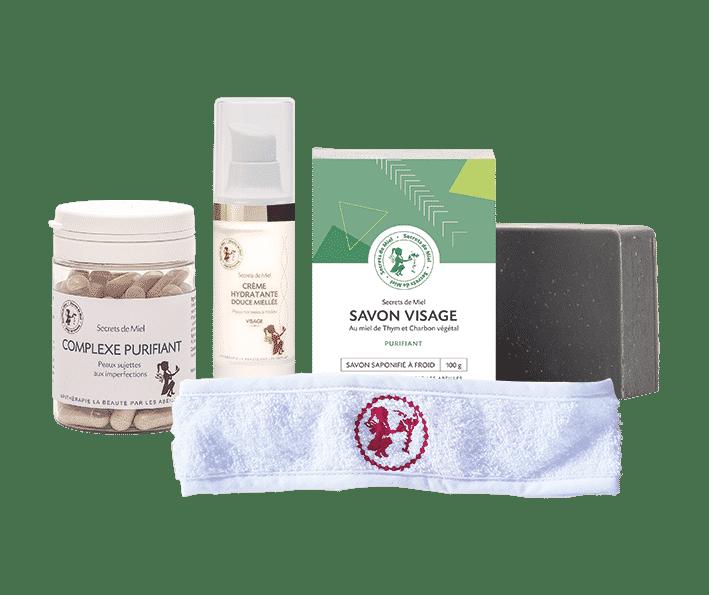 peau saine - produits naturels - peau à imperfections - complément alimentaire - Secrets de Miel