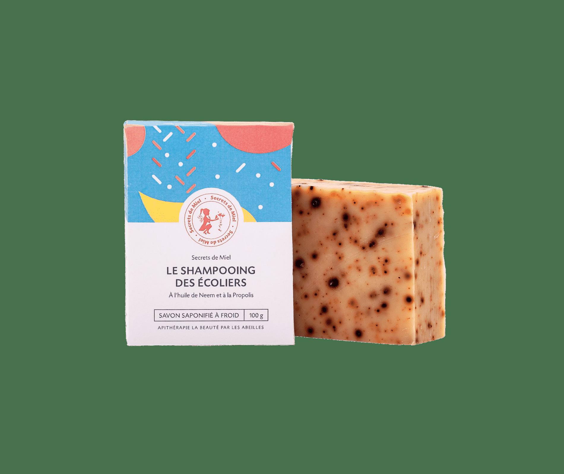 Shampooing solide - produit naturel - miel - poux - Secrets de Miel