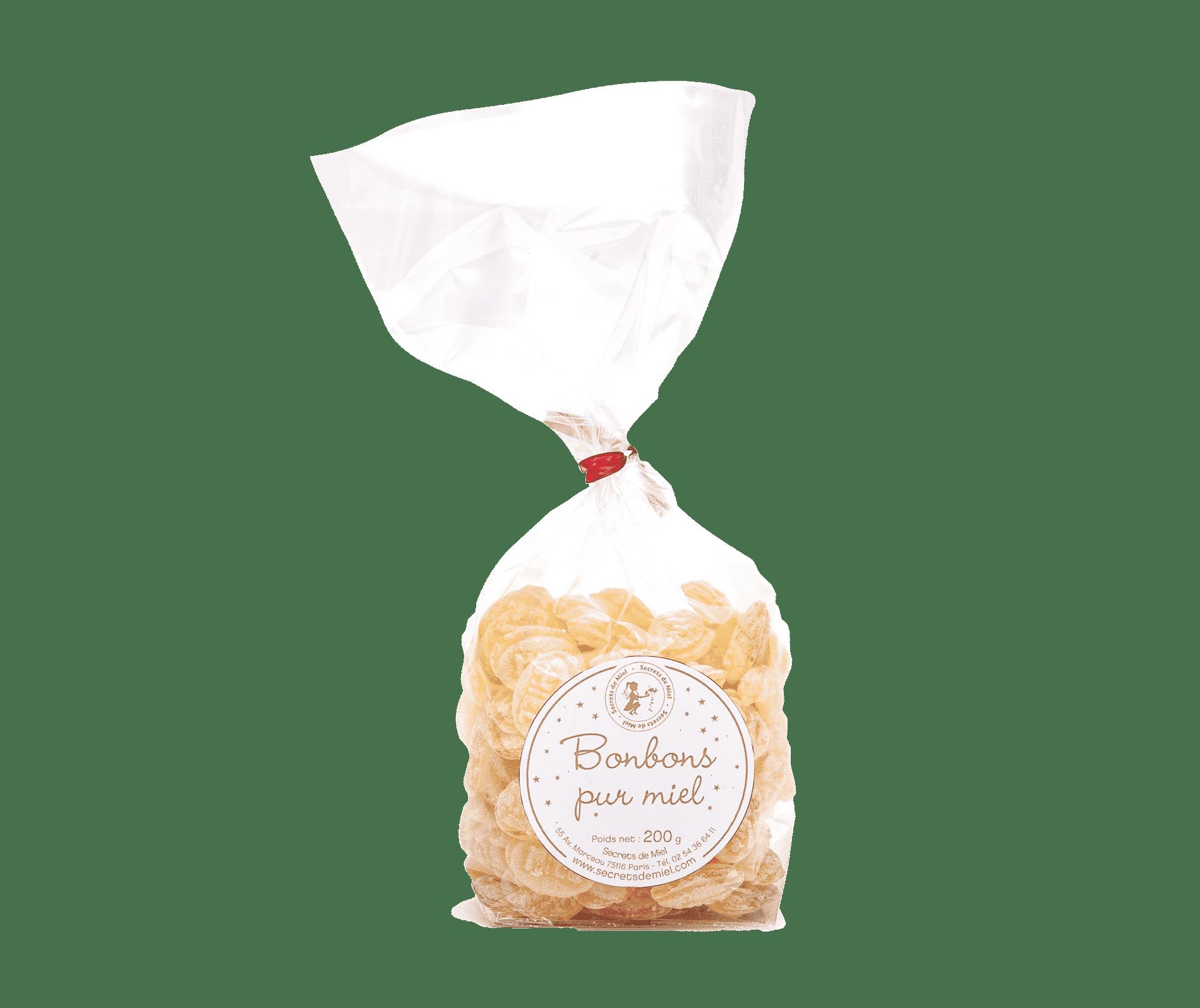 bonbons pur miel - Secrets de Miel - produits de la ruche - bonbons au miel - artisanaux