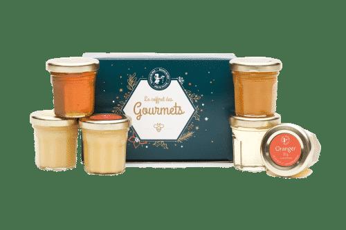 cadeau Noël - sélection de miels - miels français - qualité - Secrets de Miel