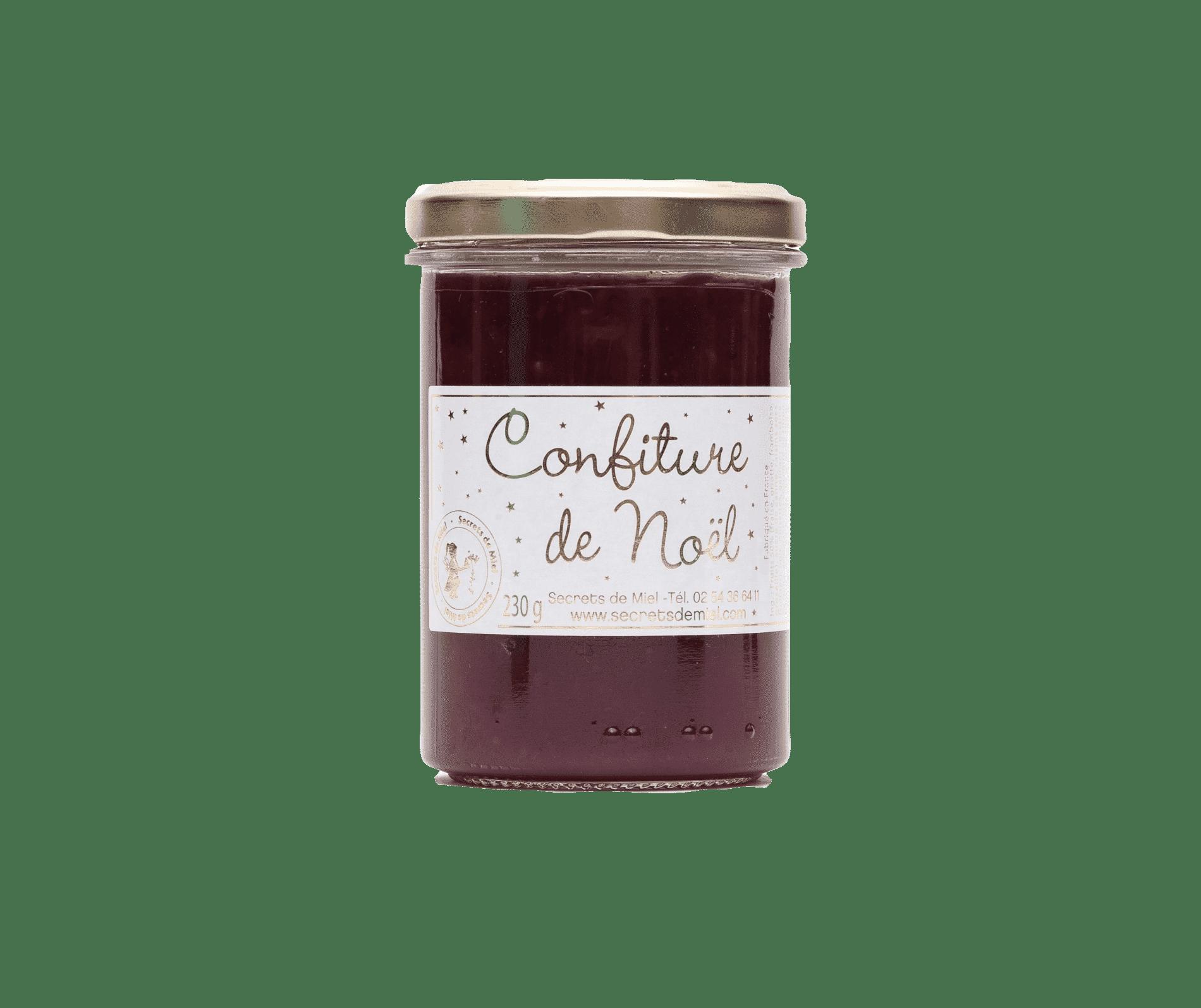 confiture - fruits rouges - artisanale - made in France - Secrets de Miel
