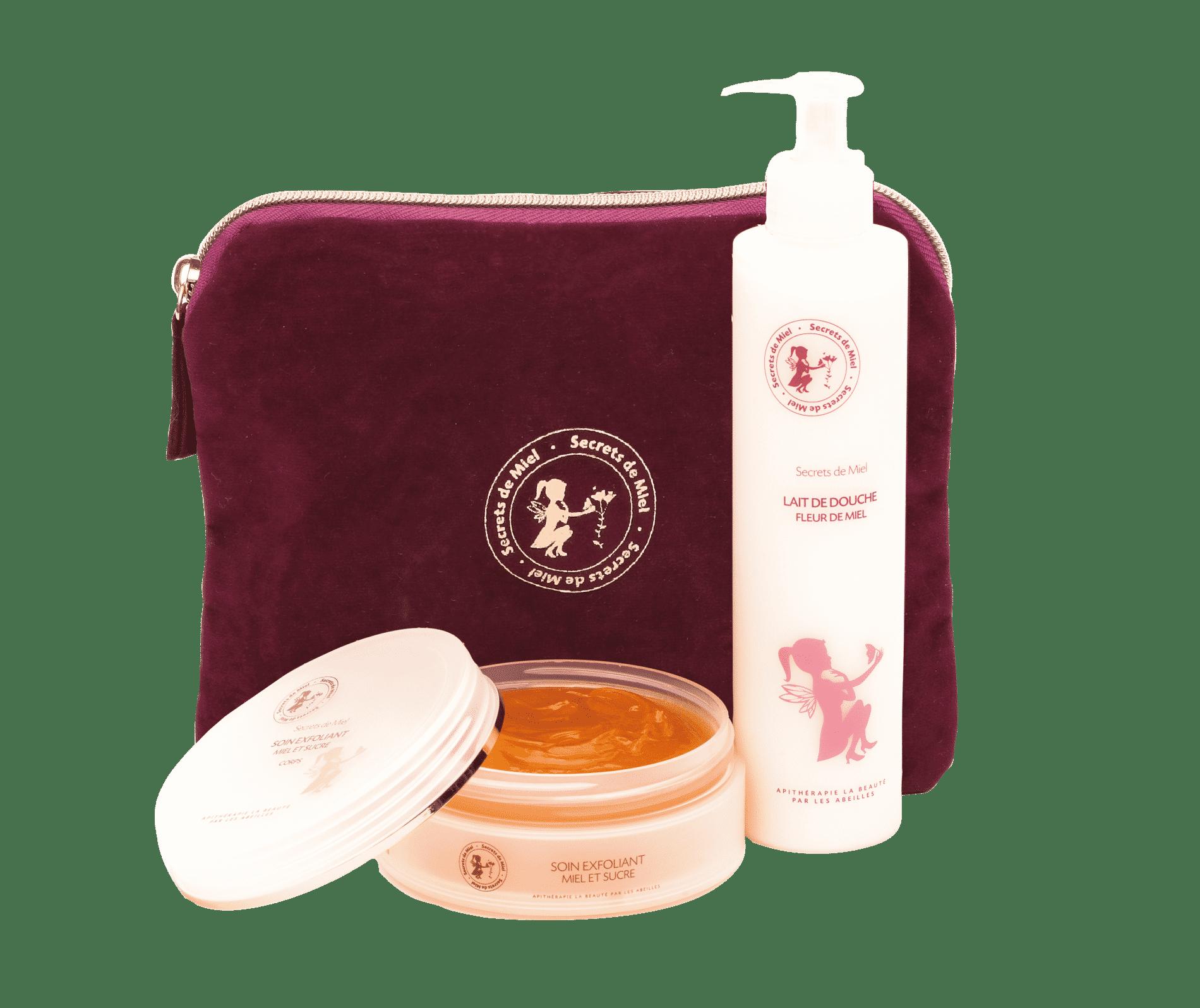 produits hydratants pour le corps - cocooning - cosmétiques naturels - Secretsd e Miel - made in France