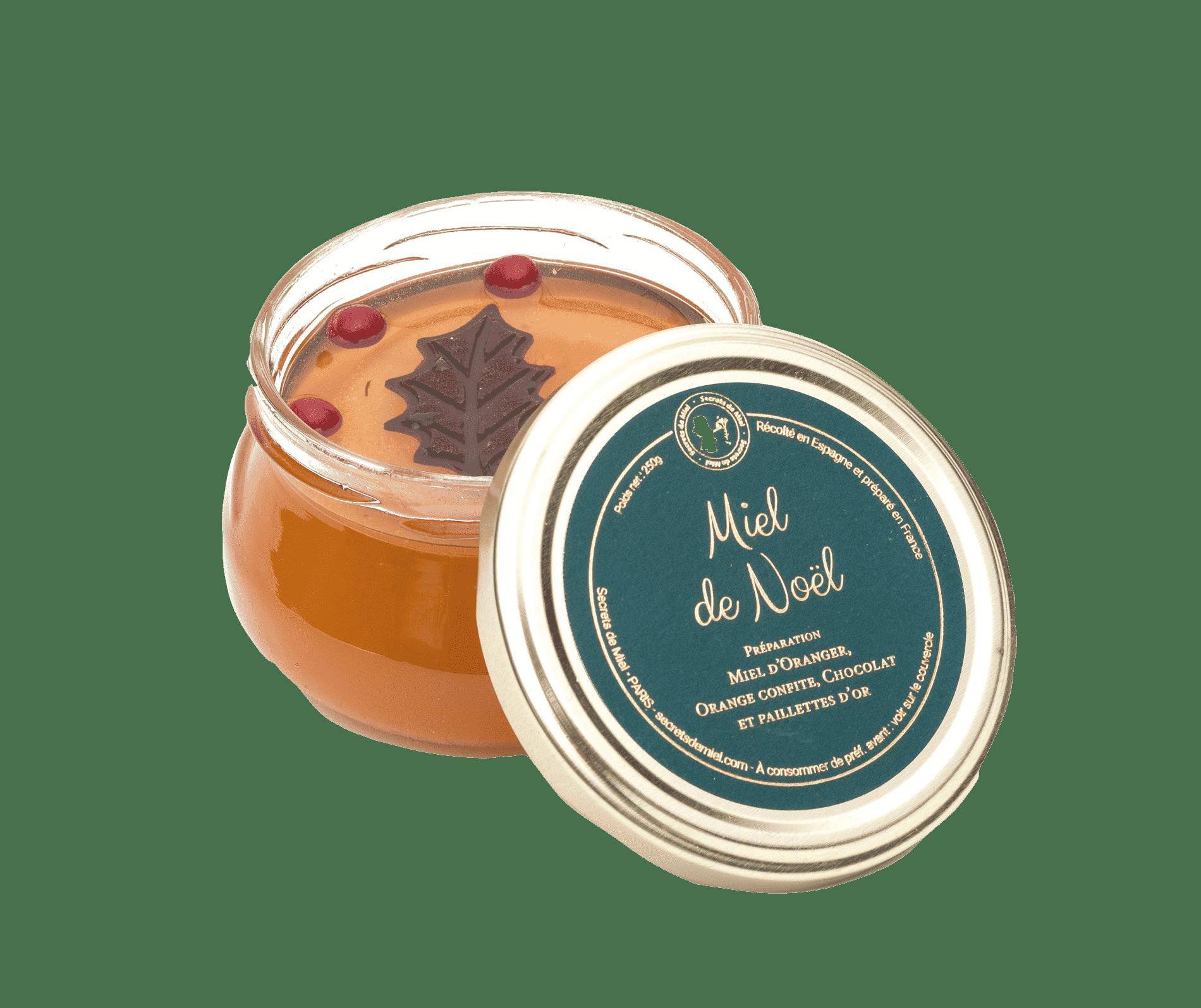 Secrets de Miel - miel d'Oranger - édition limitée de Noël