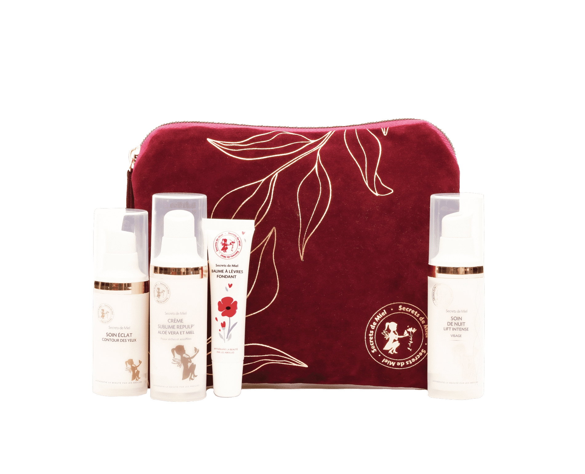 coffret cosmétiques - noël - cadeau - crèmes visage - lift - cadeau personnalisable - produits naturels - Made in France