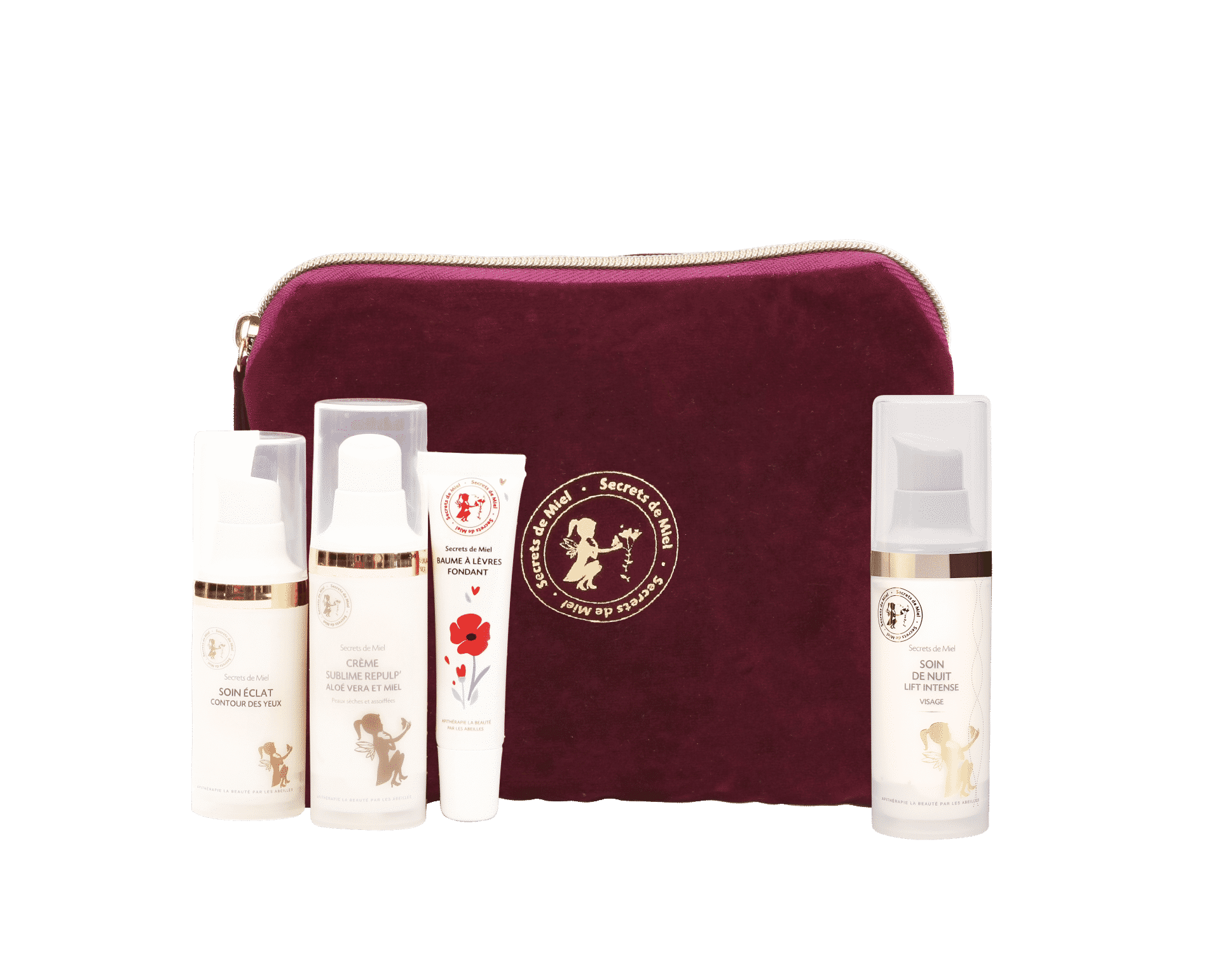 coffret cadeau cosmétiques made in France - Secrets de Miel