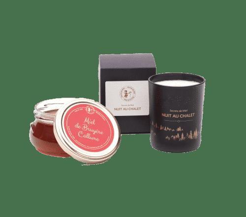 miel français - cadeau - Noël - bougie de parfumeur - Made in France - Secrets de Miel