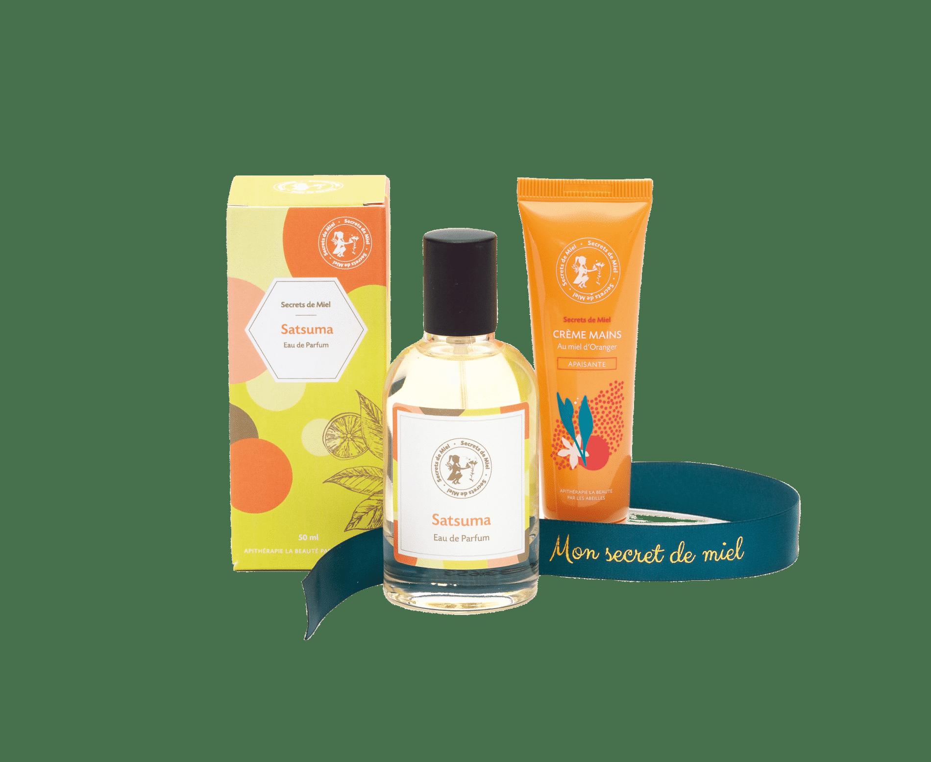 parfums - coffret prêt à offrir - Noël - cadeau - cosmétiques - Made in France - Secrets de Miel