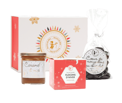 cadeaux Noël - produits gourmands - made in France - artisanal - Noël local - Secrets de Miel