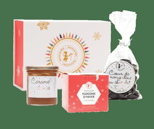 cadeaux Noël - produits gourmands - made in France - artisanal - Noël local - Secrets de Miel