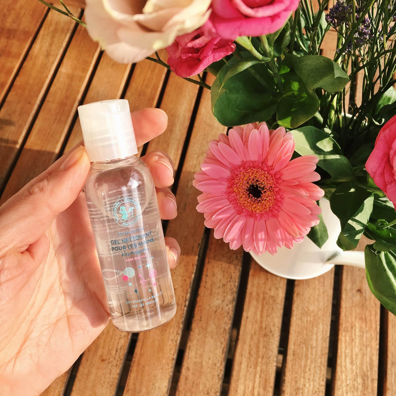 Gel nettoyant pour mains - Secrets de Miel - Produits naturels - apithérapie - vdi - made in france - désinfectant