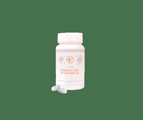 Zinc - Vitamine D3 - défenses naturelles - oligo-éléments - croissance - belle peau - Secrets de Miel