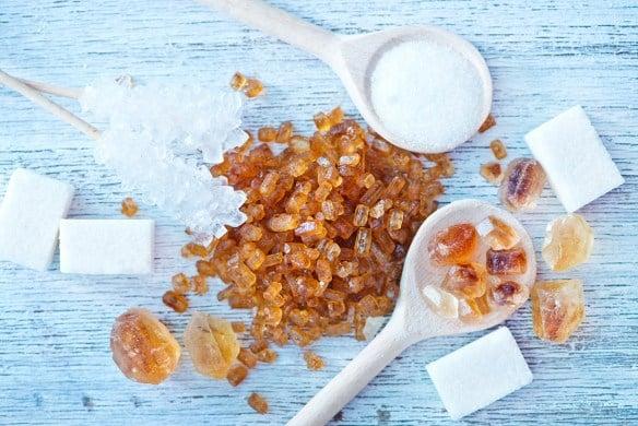 sucre, calories, miel