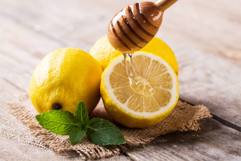 citron, miel