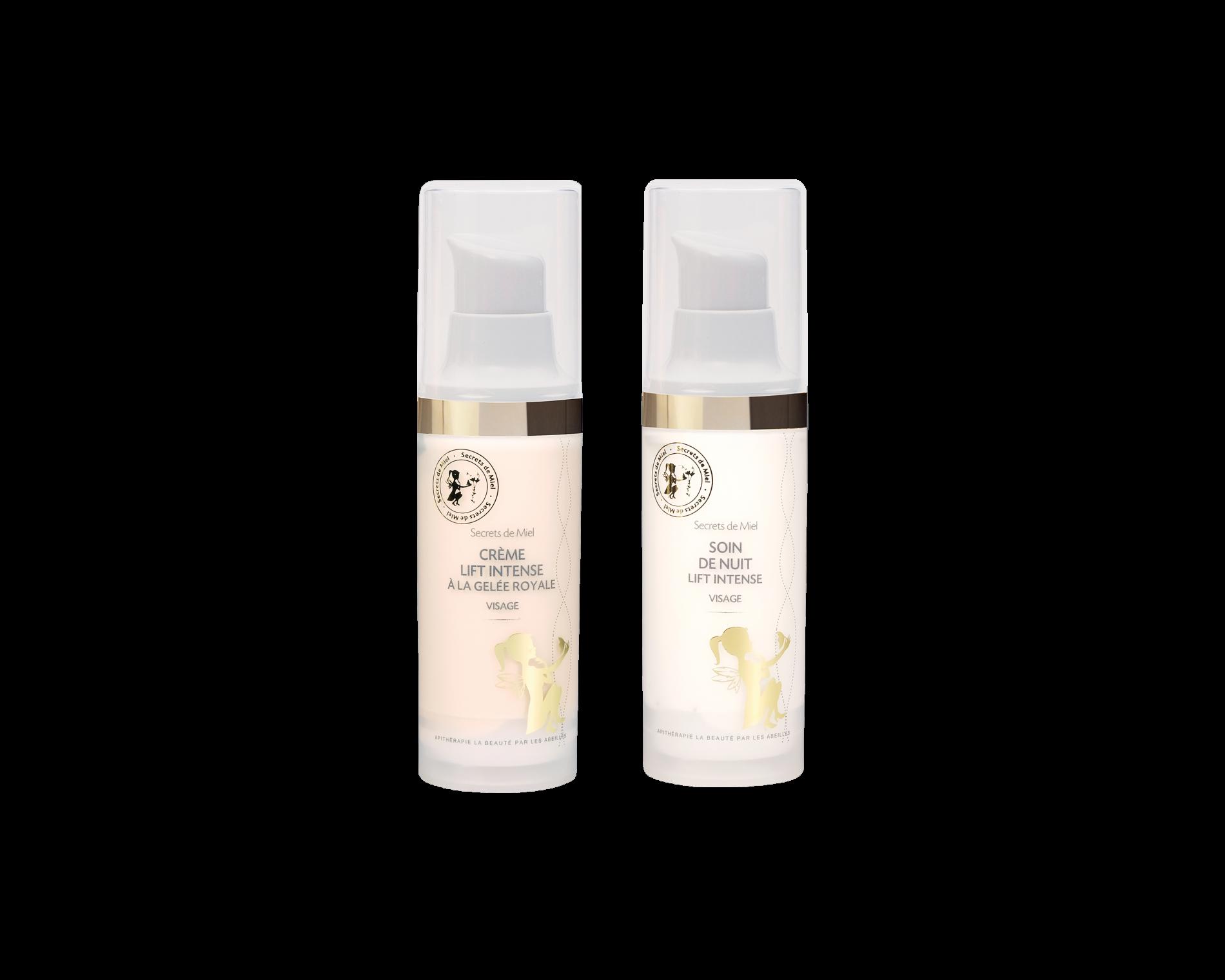 soin de jour et de nuit - hydratation visage - anti-âge - peaux matures - miel - Secrets de Miel