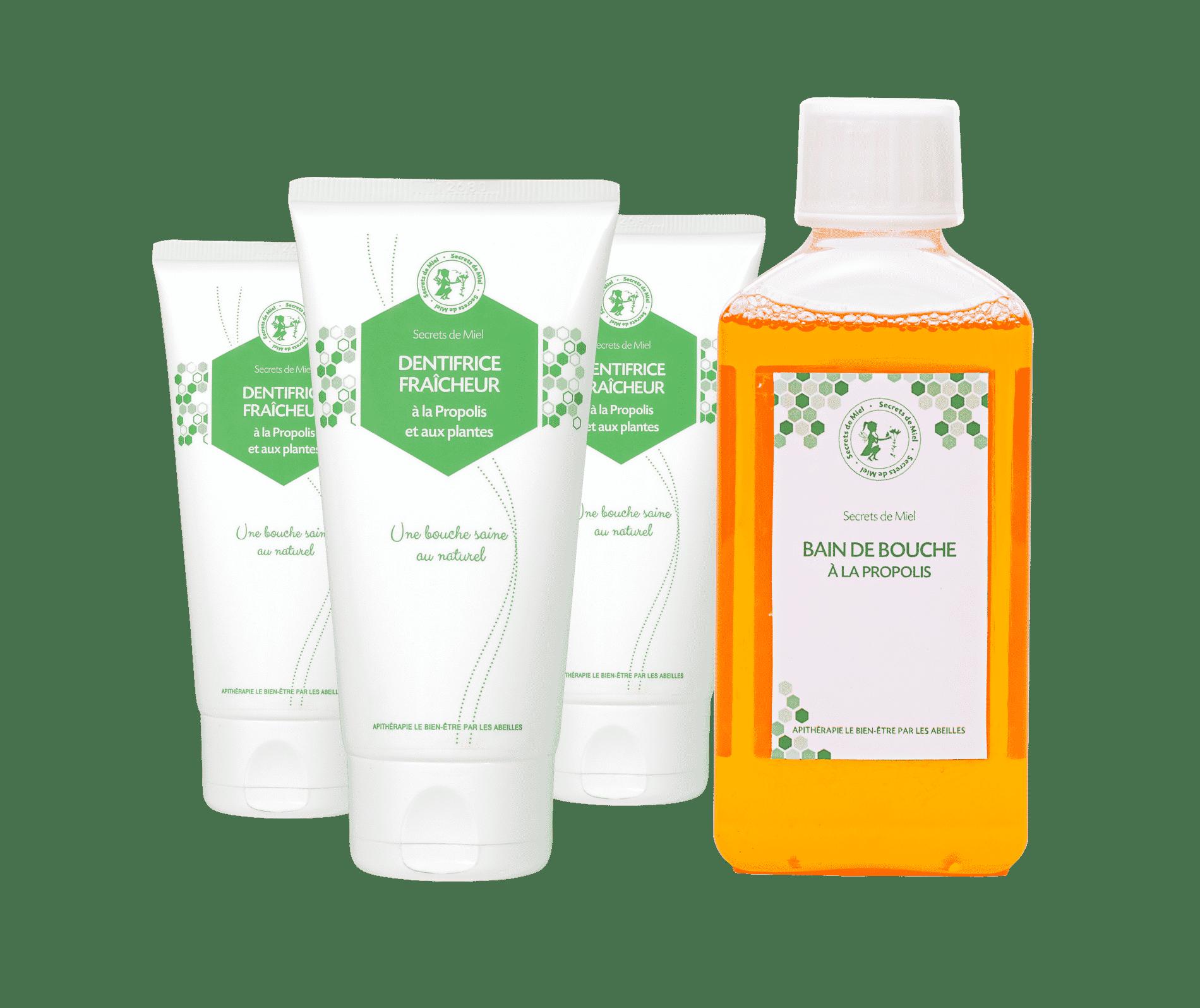 dentifrice naturel - formule naturelle - Secrets de Miel - Propolis - hygiène