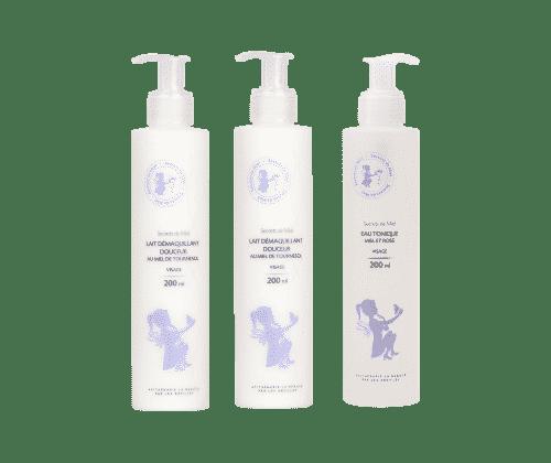 démaquillage - peaux sèches - peaux sensibles - offre du mois - Made in France - produits de la ruche - miel - eaux florales - eau tonique