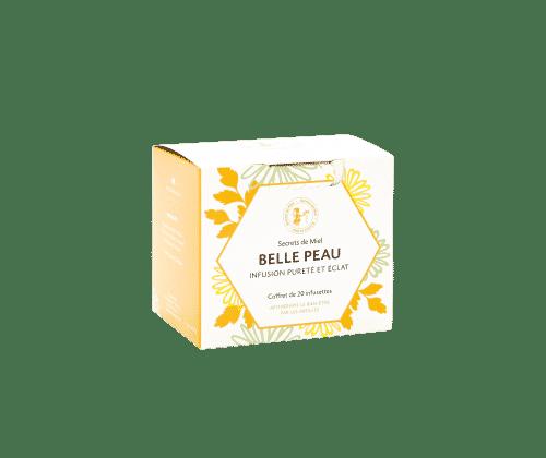 infusion - peau nette - pureté de la peau - camomille - bardane - ortie - curcuma - plantes bio - Made in France