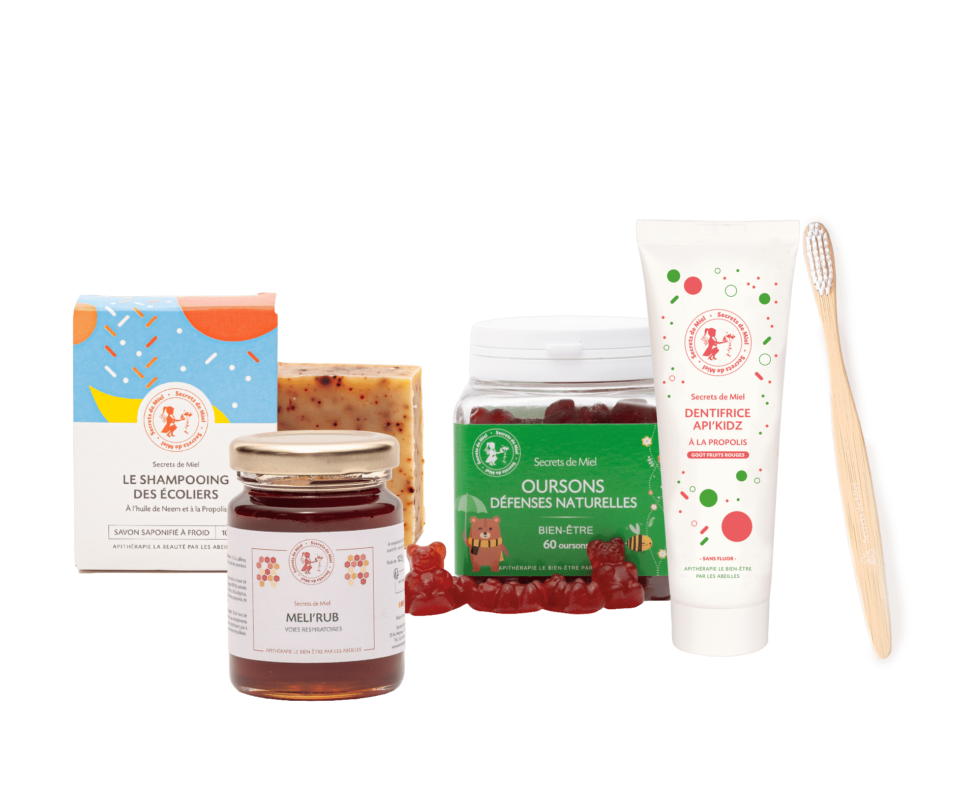 offre rentrée écoliers - compléments alimentaires - hygiène enfants - produits naturels - Secrets de Miel