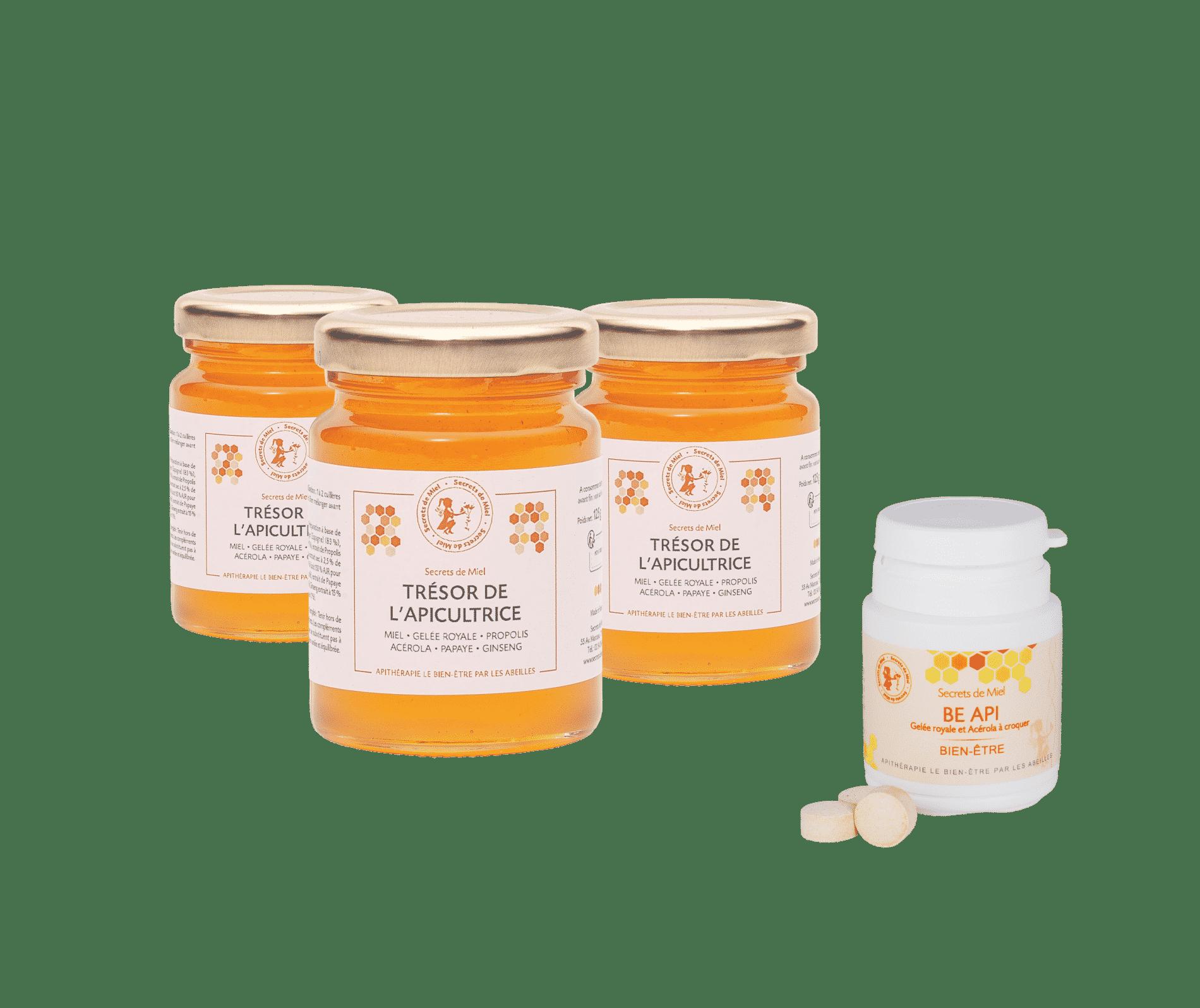 offre rentrée - gelée royale - acérola - pleine forme - rentrée en forme - compléments alimentaires - produits naturels - Secrets de Miel - Made in France